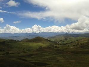 Shorey to Santiago de Chuco, breathtaking view