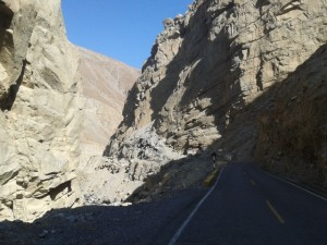 On the way to Canyon del Pato, Duck-Canyon, Entenschlucht