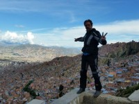 Bolivia: La Paz, the great view from the north